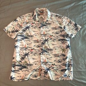 Lucky Brand Hawaiian shirt